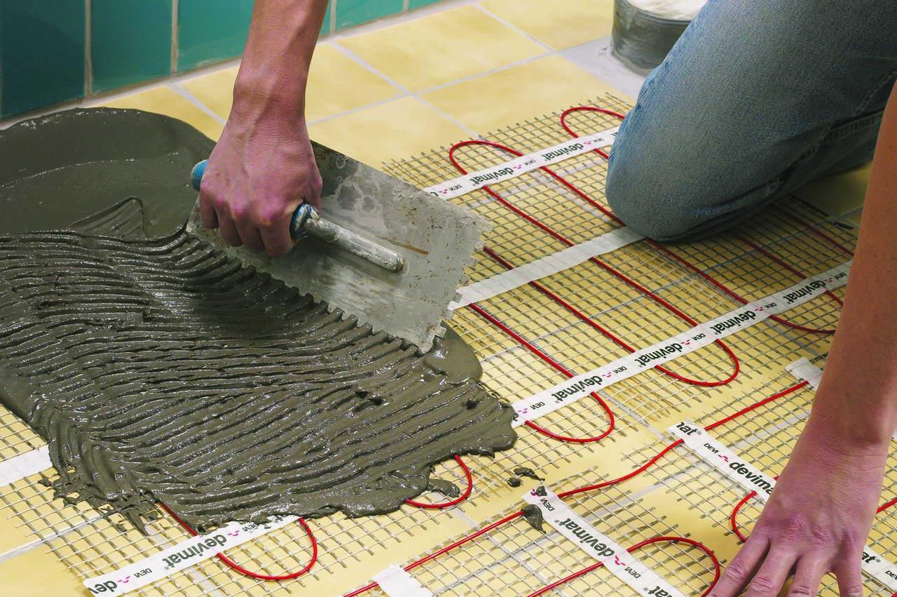 Электрические теплые полы своими руками пошаговое изготовление