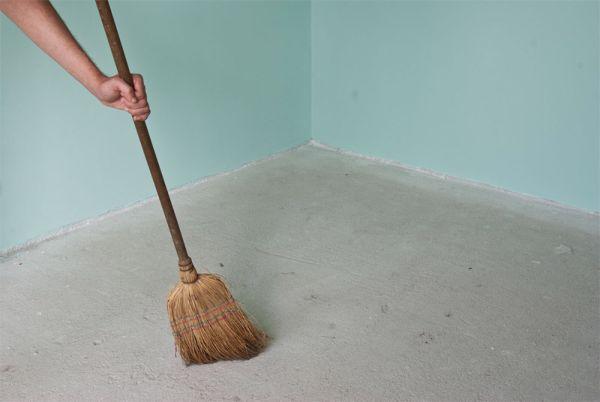 стяжка под пол